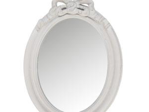 specchio ovale romantico