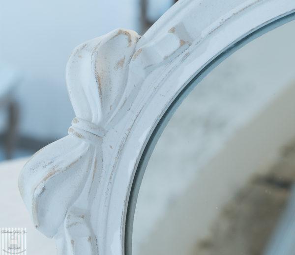 specchio vassoio shabby chic