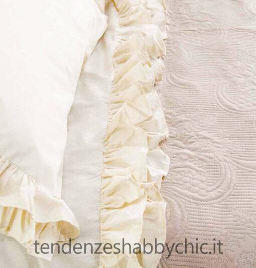 "Lenzuola ""Brigitte"" by L'Atelier 17 una piazza"