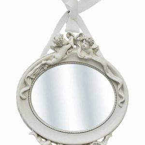specchio shabby chic ovale