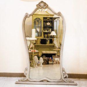 specchio antico shabby chic