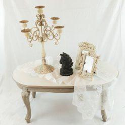 Tavolino chippendale Shabby Chic