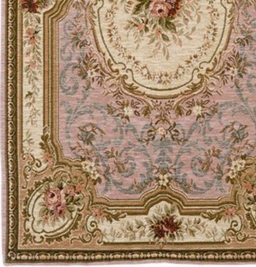 tappeto con rose