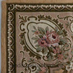 tappeto con rose fiori