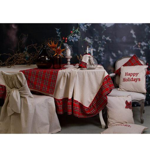 Set di 4 cuscini natalizi 45x45