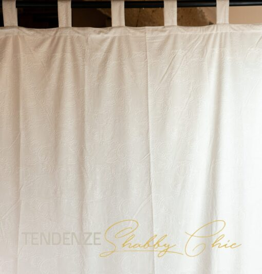 Tenda in velluto damascato Art 140x290