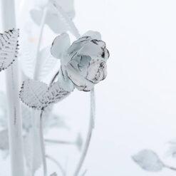 Lampadario shabby chic con rose D 51 cm