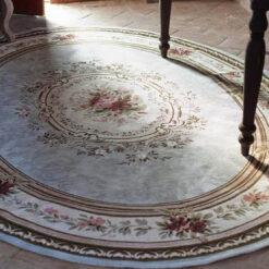 tappeto ovale blanc mariclo