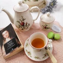 Tazza da Tè in ceramica Moss Rose