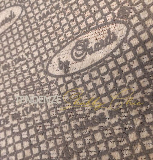 tappeto elegant grigio retro antiscivolo
