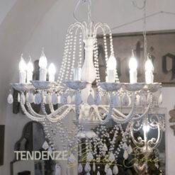 lampadario con pendenti