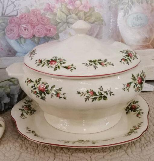 zuppiera in ceramica