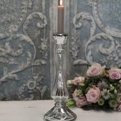 candeliere in vetro mercurizzato