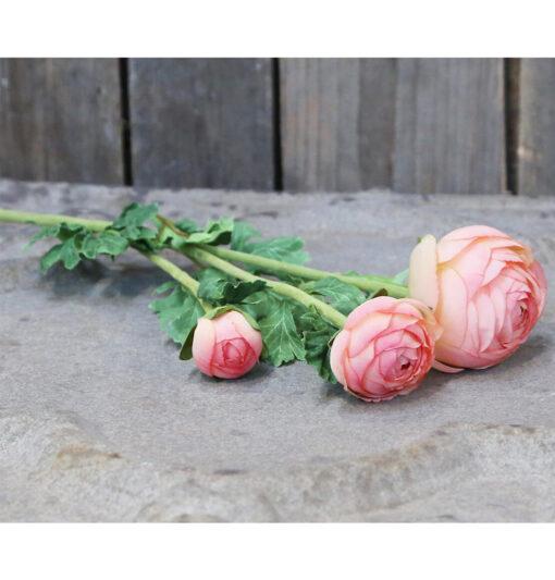 rosa sintetica shabby chic