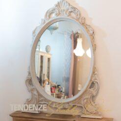 Specchio d'appoggio Shabby Chic 110 h