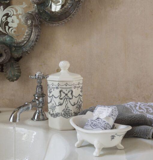 Vaschetta portasapone in Ceramica Mathilde M.