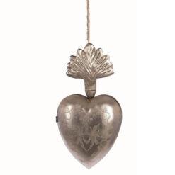 cuore in metallo ex voto