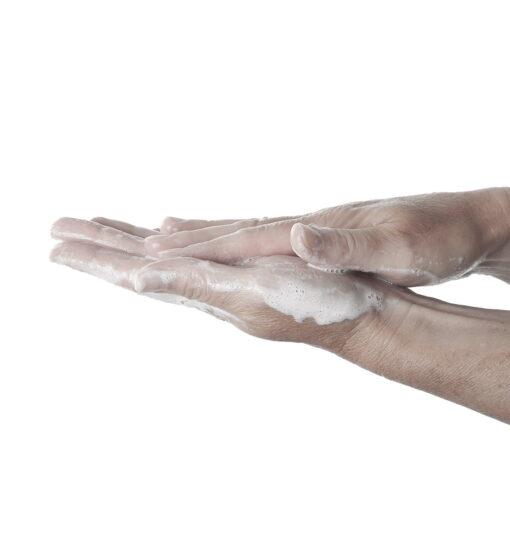 Scatola a cuore con 30 fogli di sapone al profumo di rosa Mathilde M.