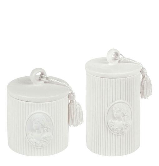 Set 2 barattoli in ceramica Mathilde M. - Marquise