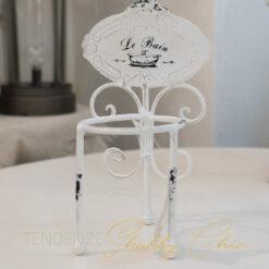 Porta Spazzolini LeBain Bianco Vintage