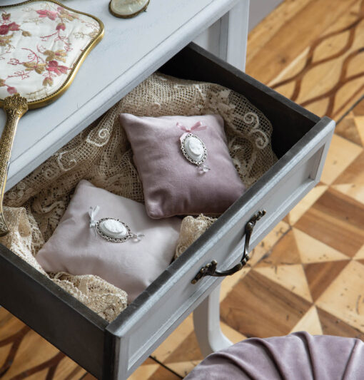 Cuscino Cammeo in velluto - Mathilde M