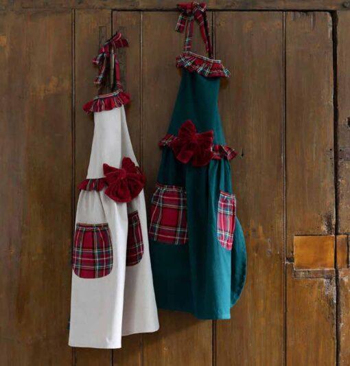 grembiule da cucina natalizio