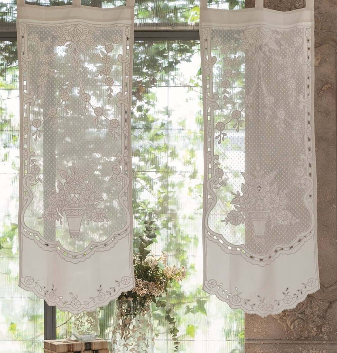 tendine in cotone blanc mariclò